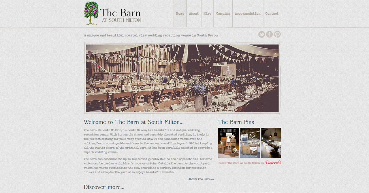 The Barn at South Milton