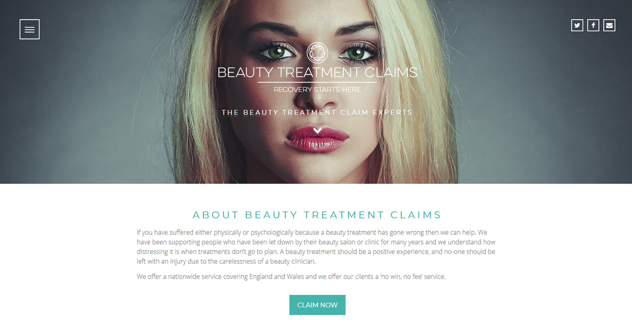 Beauty Treatment Claims