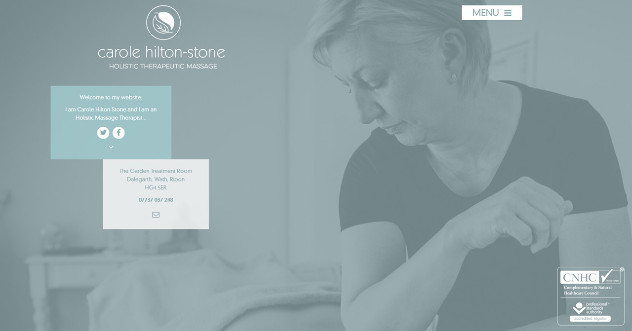 Carole hilton-Stone Holistic Massage Therapy
