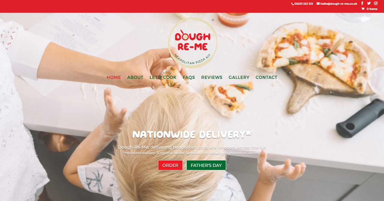 Dough-Re-Me pizza kits