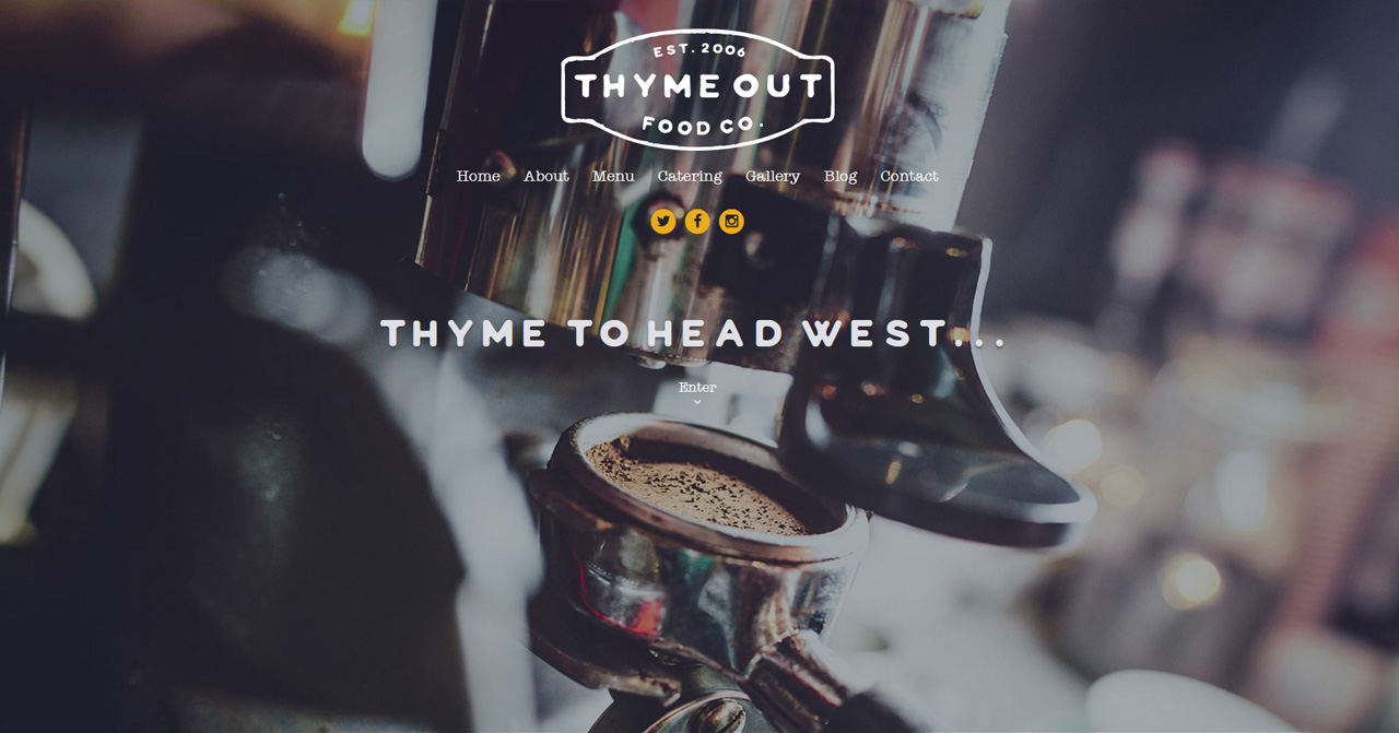 Theyme Out Food Co