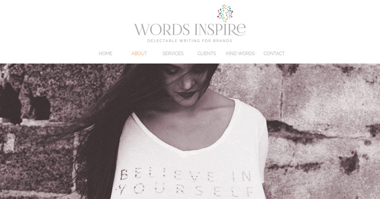 Words Inspire copywriting services